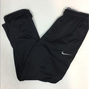 Nike Mens Therma-Fit Training Pants Black Medium